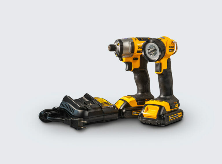 Cordless Impact Driver and Work Light