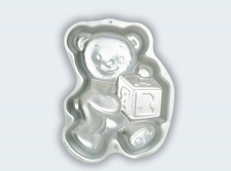 Teddy Bear with Block