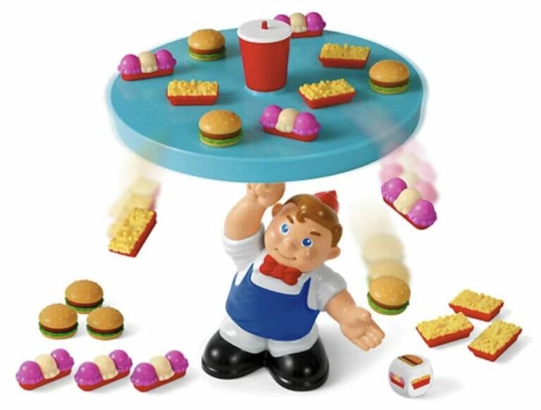 Diner Drop Balancing Game