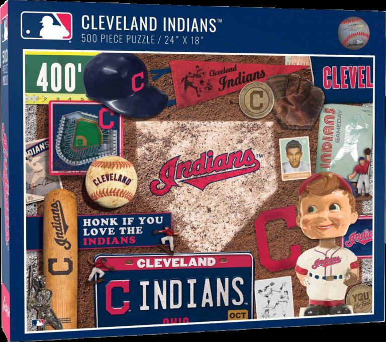 Cleveland Indians Puzzle