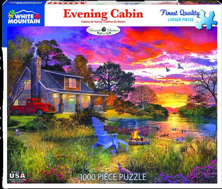 Evening Cabin
